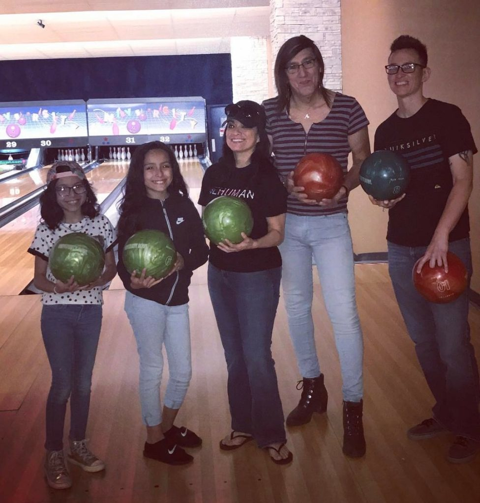 Belinda Trevino and family