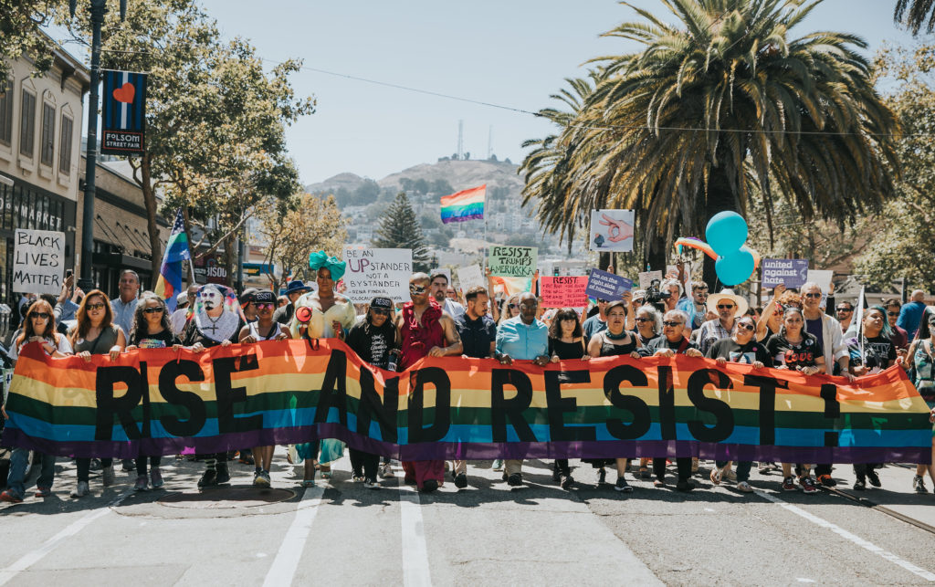 San Francisco Rally and March Against Hate