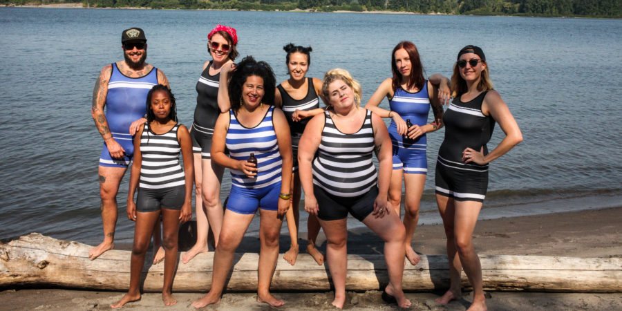 Beefcake Swimwear, androgynous swimsuits