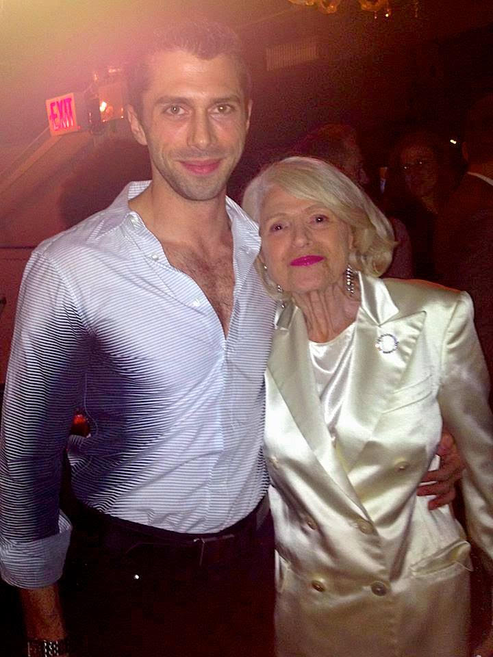 Jonathan Lovitz and Edie Windsor