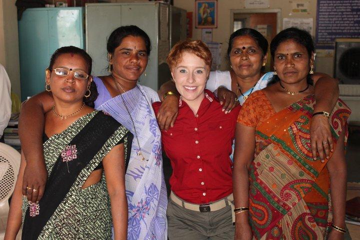 Fiona Dawson in India