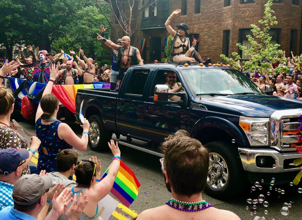 Leather daddies at Capital Pride parade