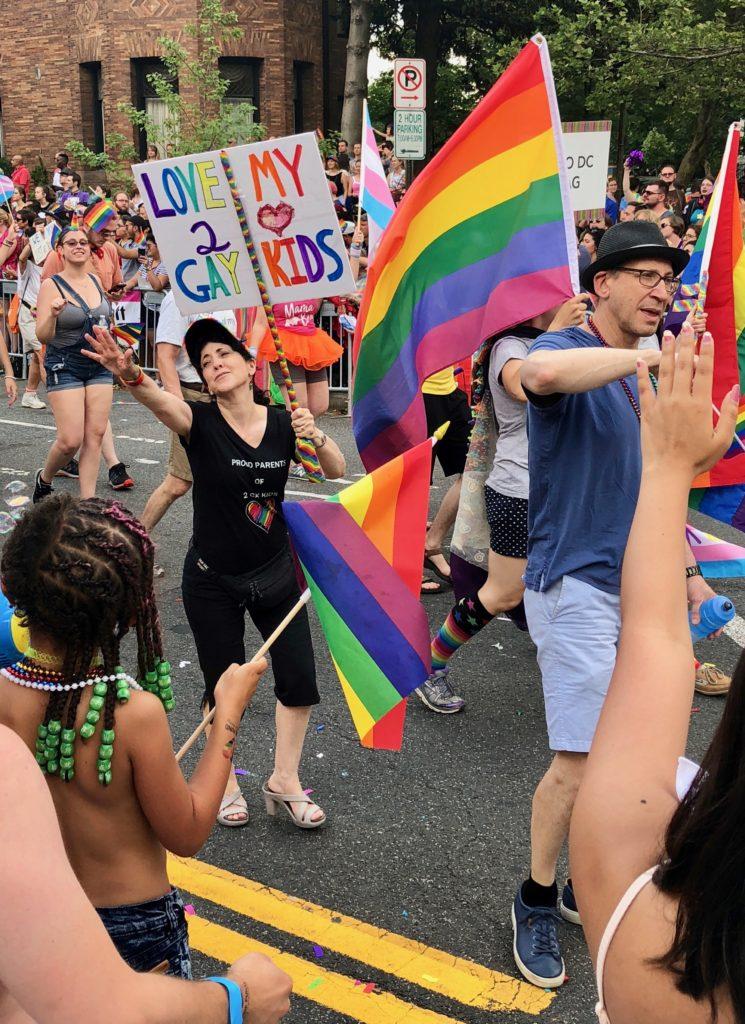 PFLAG at Capital Pride in DC
