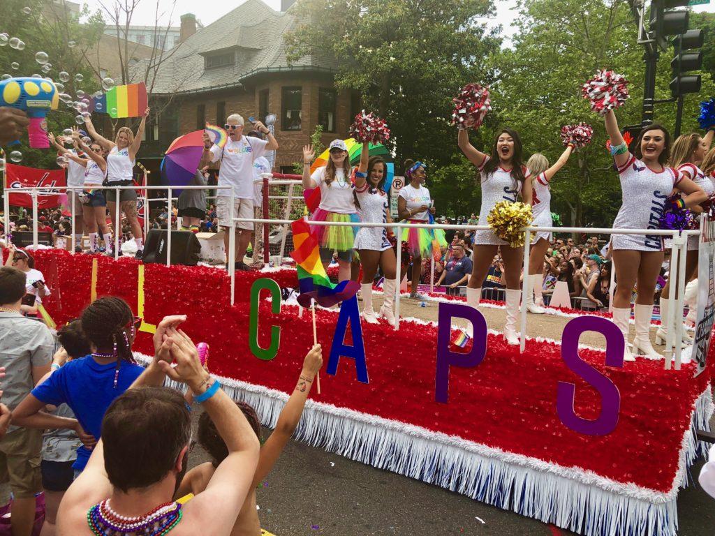 Washington Capitals at Capital Pride parade