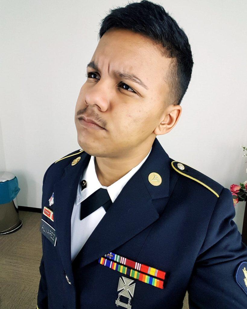 Transgender man Zane Alvarez