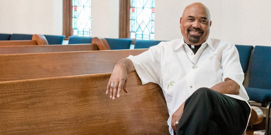 Rev William H. Knight, openly gay pastor