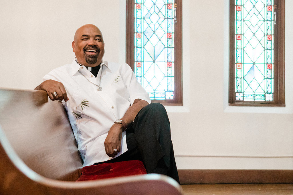 Rev. William H. Knight, openly gay pastor