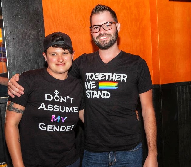 Cole Crum of GAYTX, who's creating a new LGBTQ sizing system