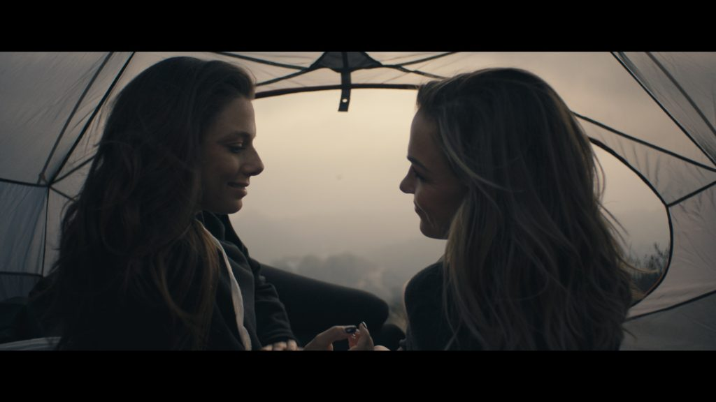 "A still from Baxter's film, ""Female Connection"""