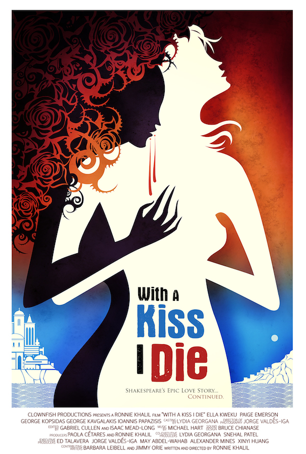 With a Kiss I Die, a movie about a black lesbian vampire