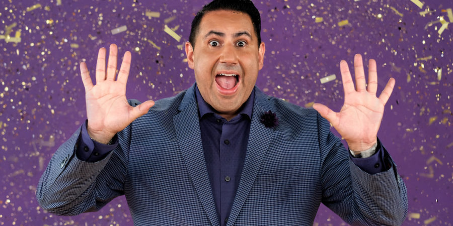 Alexander Rodriguez, host of Glitterbomb