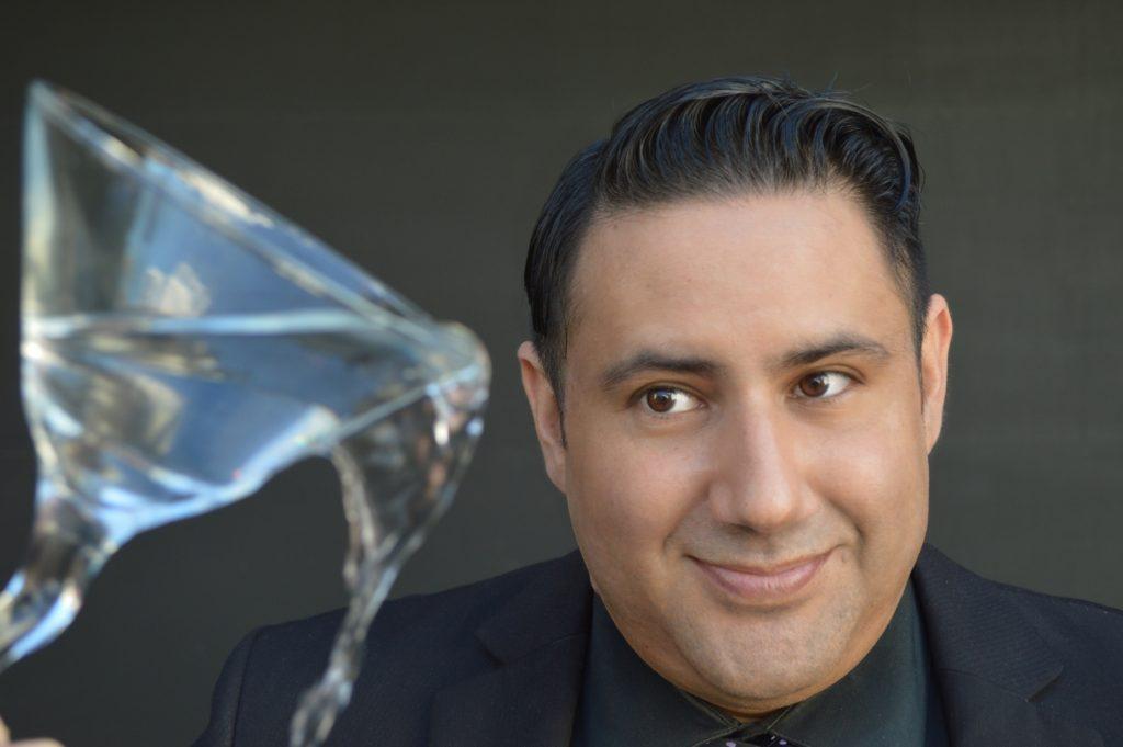 Alexander Rodriguez, host of LGBTQ Latinx talk show Glitterbomb