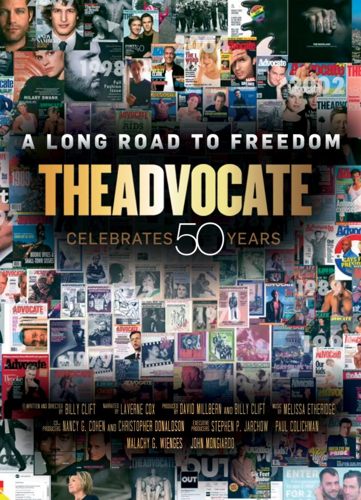 Movie poster for A Long Road to Freedom, a film about LGBTQ history