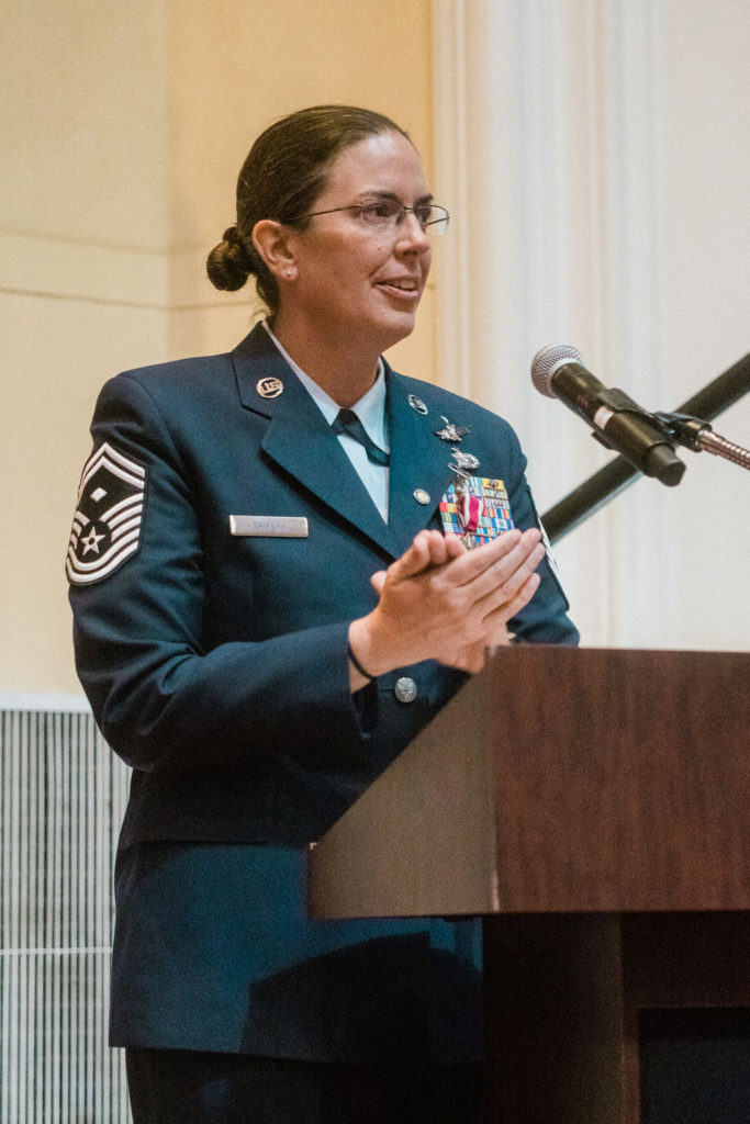 Jenny Thielke, who served in the military during Don't Ask Don't Tell