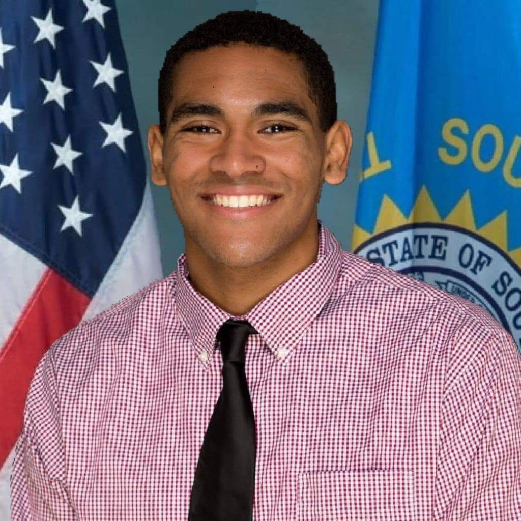 Justice Horn, openly gay college athlete