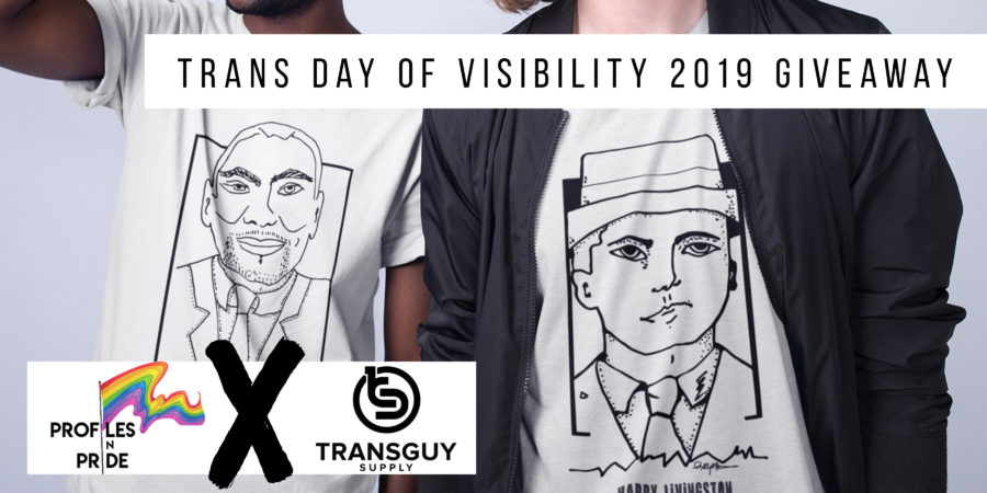 Transgender Day of Visibility giveaway