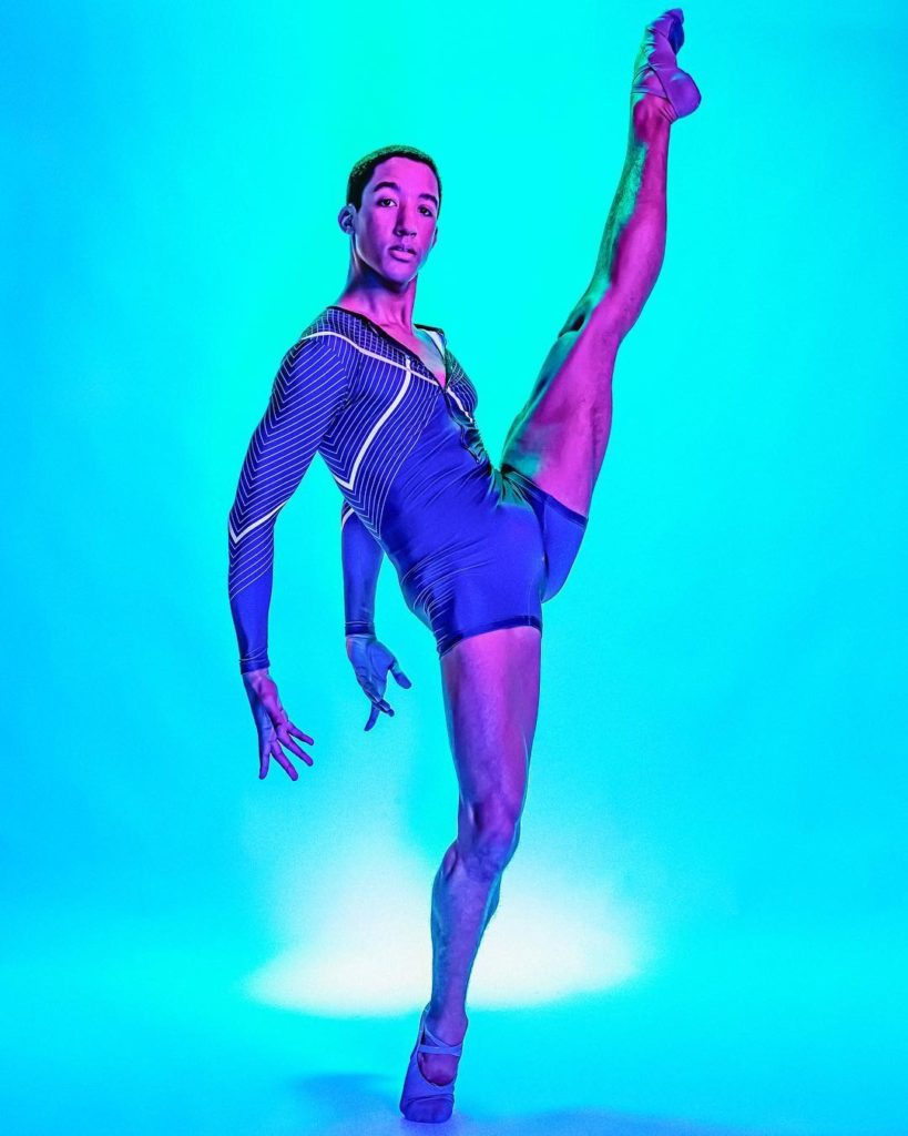 Harper Watters, openly gay ballet dancer and person of color