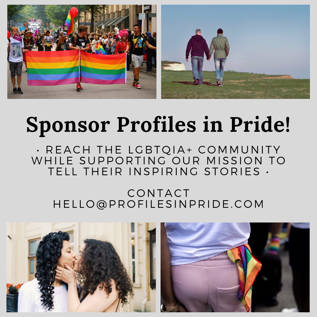 Sponsor Profiles in Pride LGBTQ blog