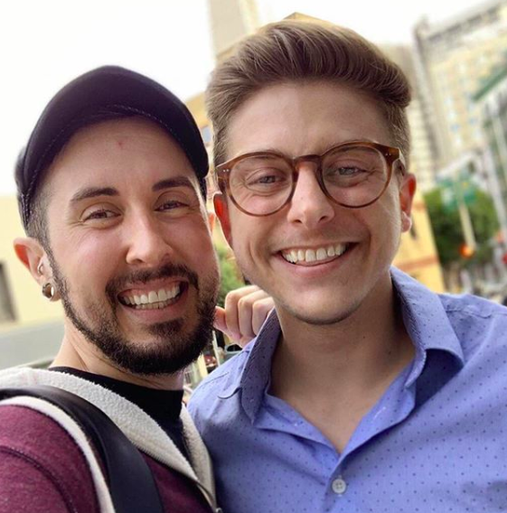 Trystan Reese and Thomas Cole, two trans men