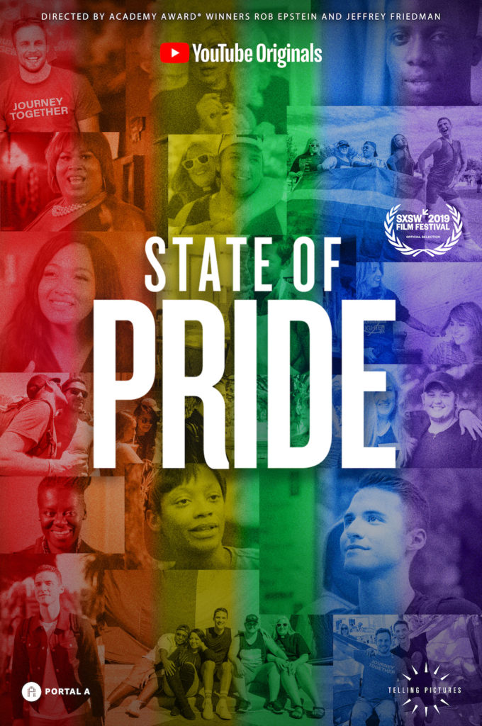 Poster for State of Pride documentary, starring Raymond Braun