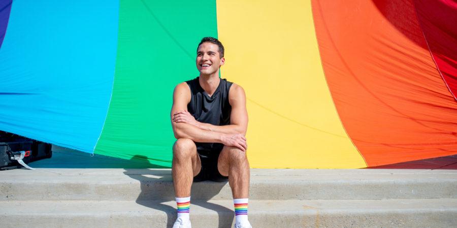 Raymond Braun filming State of Pride
