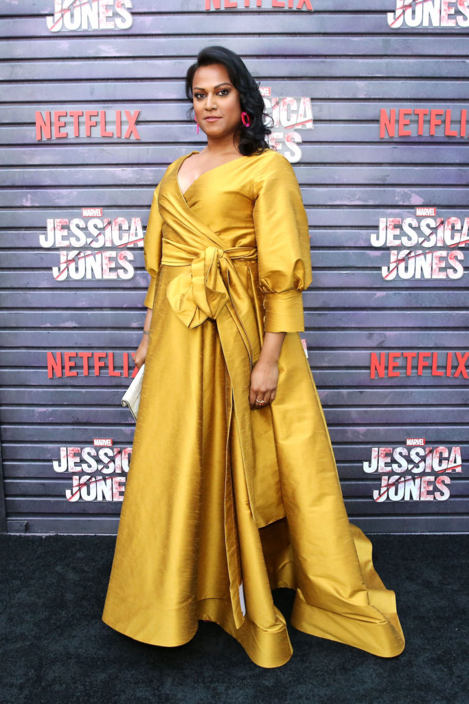 Aneesh Sheth attending the Jessica Jones premiere, working to improve transgender visibility