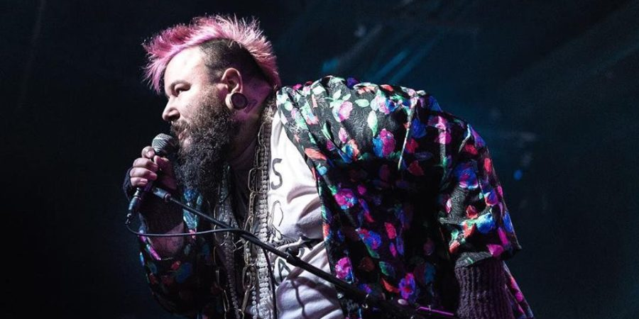Chris Conde, a queer rapper