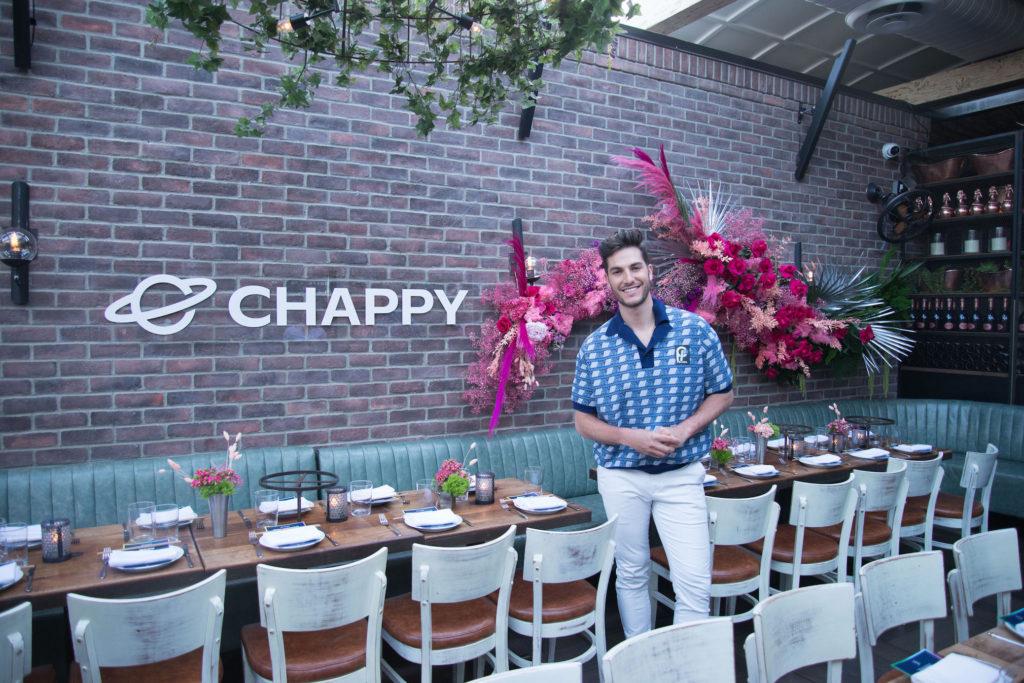 Sam Dumas of Chappy gay dating app