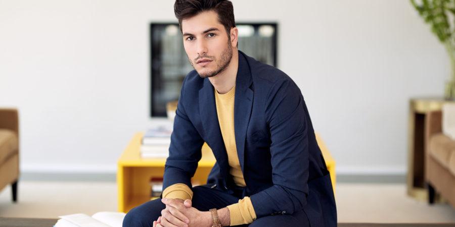 Sam Dumas from gay dating app Chappy