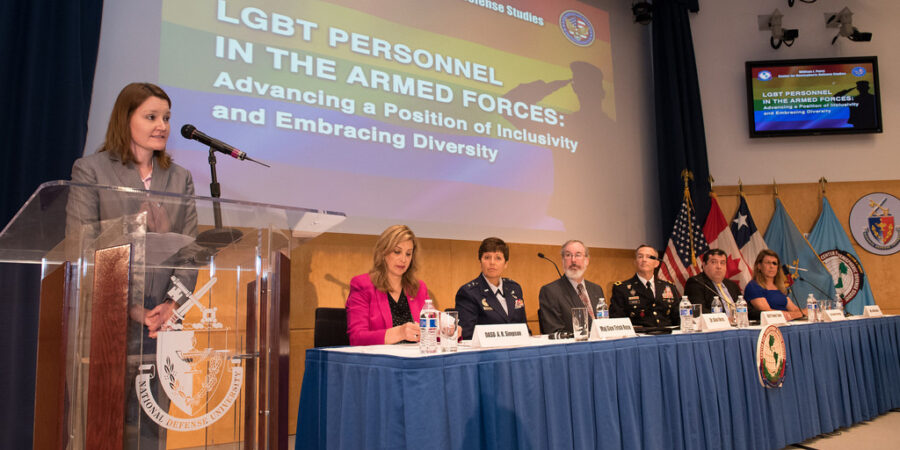Jennifer Dane, an LGBTQ military advocate