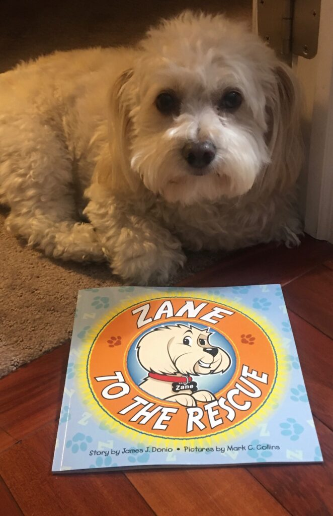 Zane to the Rescue - a children's book about rescue dogs and LGBTQ families