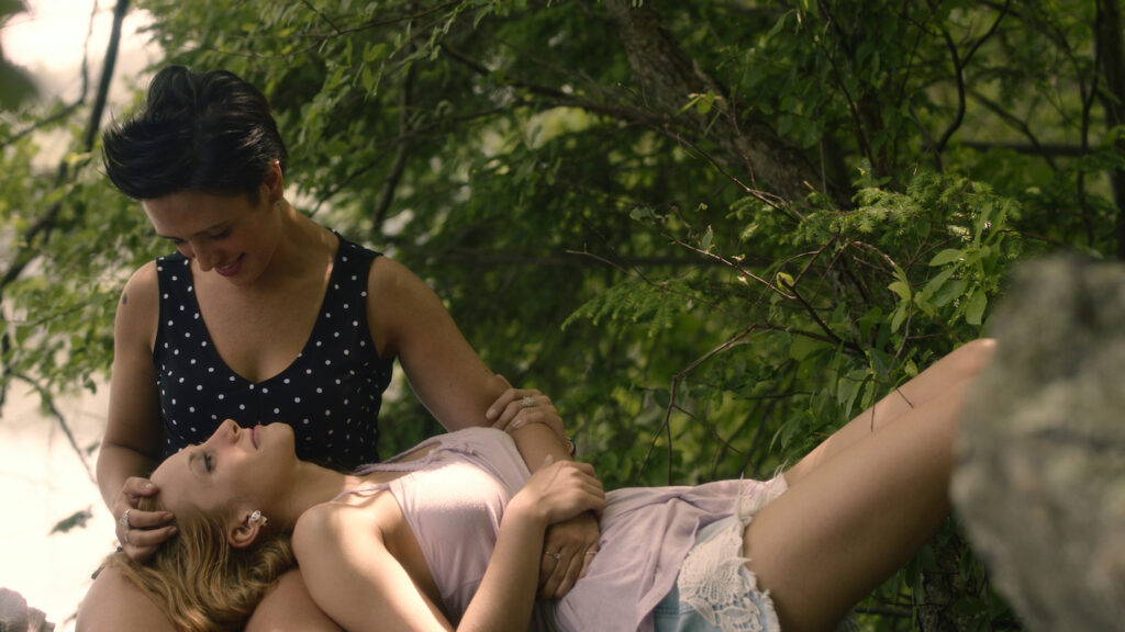 "A scene from ""Road of Bygones"" by openly kinky and lesbian filmmaker Astrid Ovalles"
